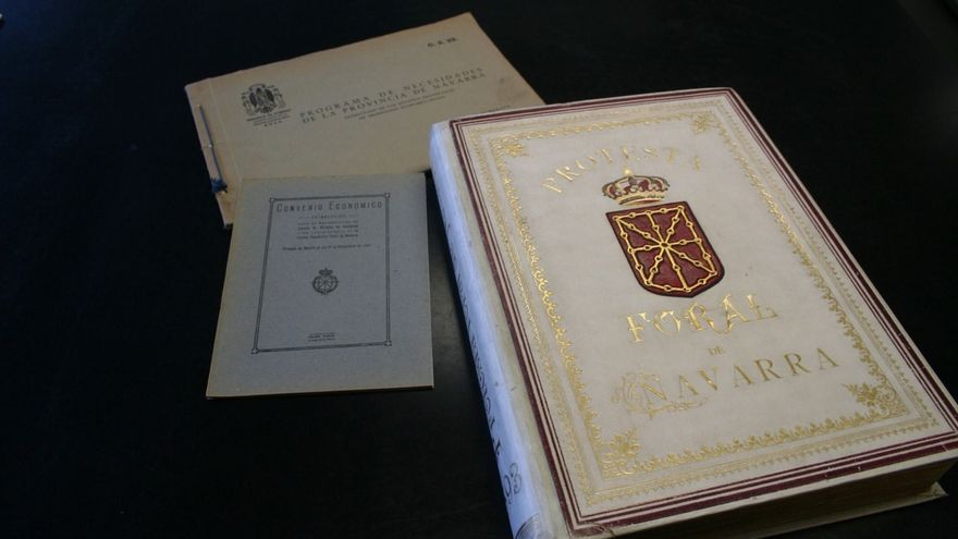 El Archivo General exhibe los textos fundamentales del Convenio Económico