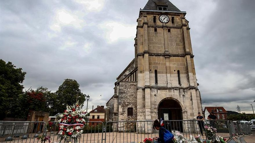 El segundo terrorista de la iglesia francesa también estaba fichado por policía