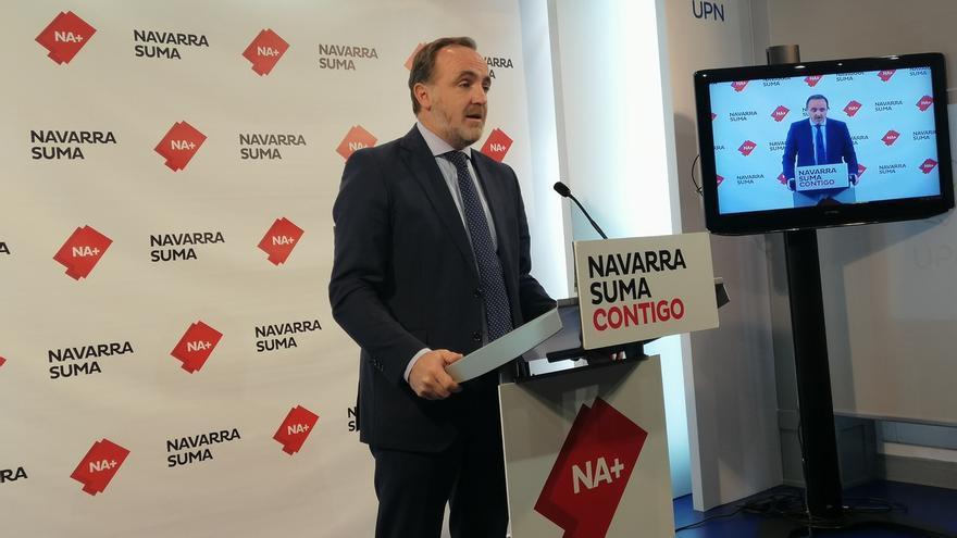 Navarra Suma acusa al Gobierno de falta de transparencia por no informar del contenido de su acuerdo con EH Bildu