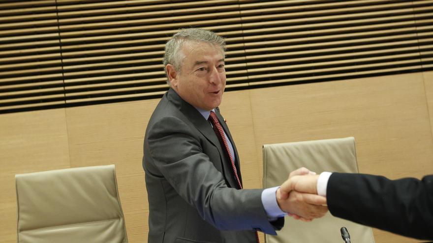 El todavía presidente de RTVE, José Antonio Sánchez