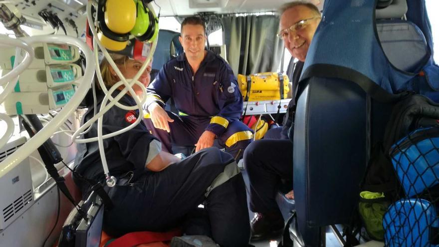 Los nuevos helicópteros cuentan con mayor autonomía de vuelo, una cabina asistencial más amplia e incorporan las últimas novedades en equipamiento médico aéreo.