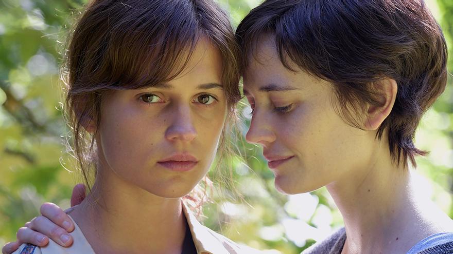 Alicia Vikander y Eva Green en 'Euphoria', competidora en el festival Cine por Mujeres