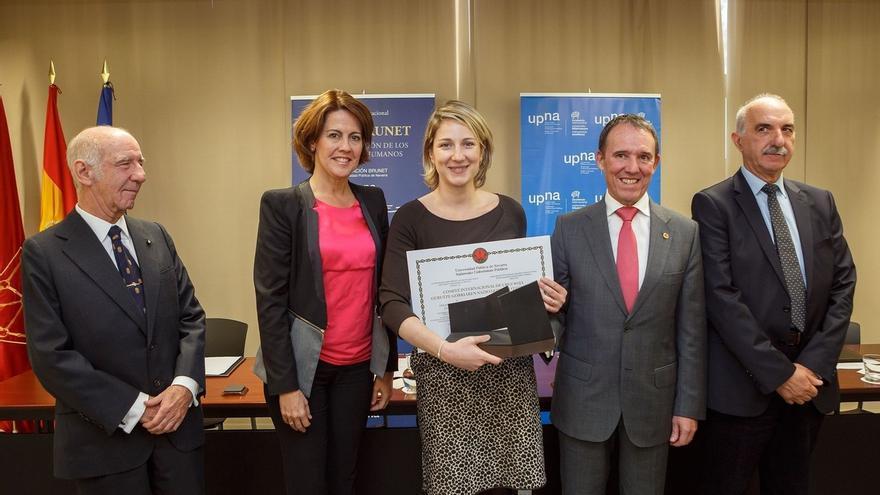 La UPNA entrega a Comité Internacional de Cruz Roja el Premio Jaime Brunet a la Promoción de los Derechos Humanos