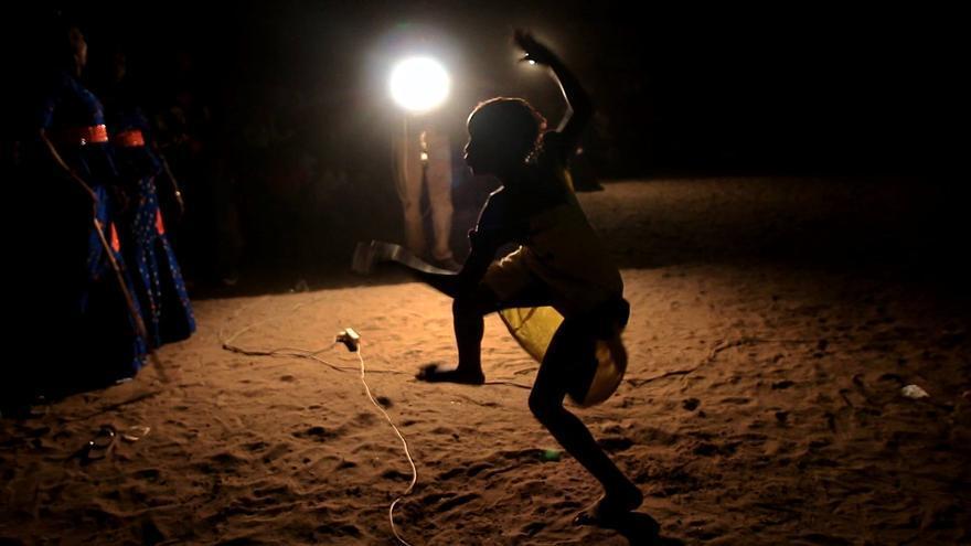 Baile serer en Joal, Senegal.