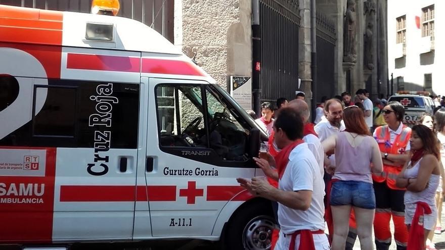 Cruz Roja atiende a nueve personas durante las primeras horas de las fiestas
