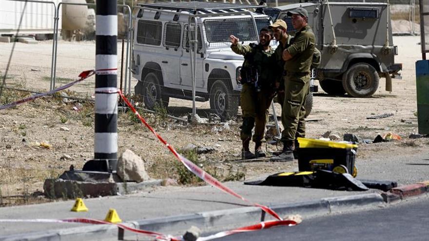 Muere un palestino por fuego israelí tras un intento de apuñalamiento en Cisjordania