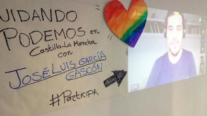 José Luis García Gascón encabeza la candidatura 'Cuidando Podemos Castilla-La Mancha'