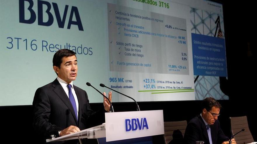 BBVA cumple los requisitos de capital y no tendrá que aplicar restricciones