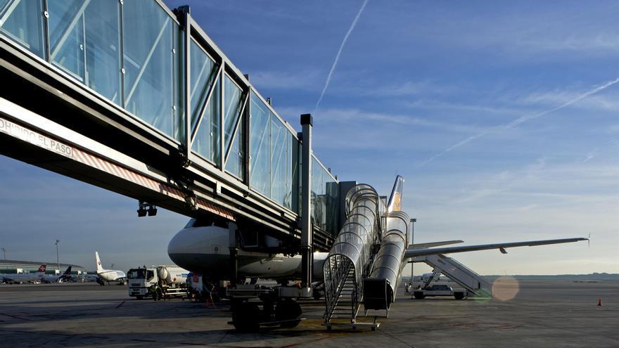 Pista del aeropuerto de El Prat.
