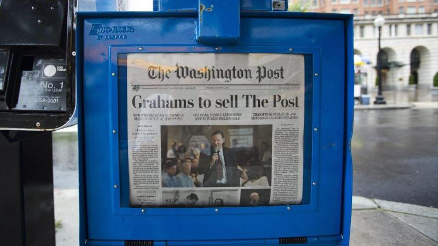 The Washington Post pierde tres periodistas clave en su estrategia digital