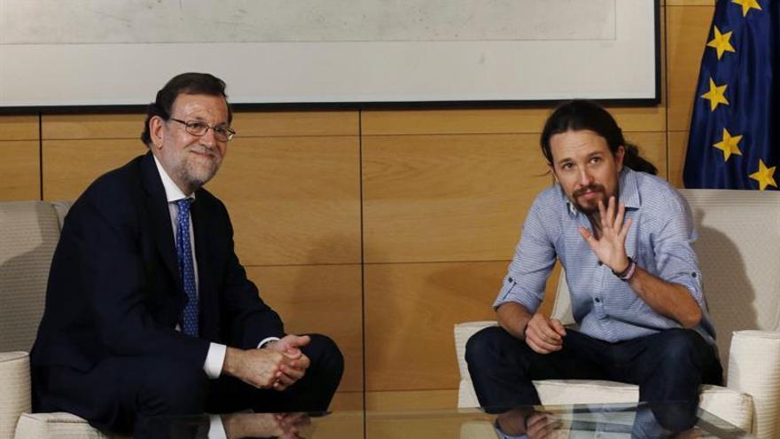 Rajoy constata profundas diferencias con Iglesias pero le agradece el diálogo