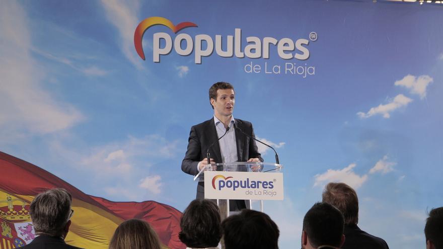 """Casado reclama a los españoles que """"no experimenten con el voto"""" de cara a lograr una España """"cohesionada"""""""