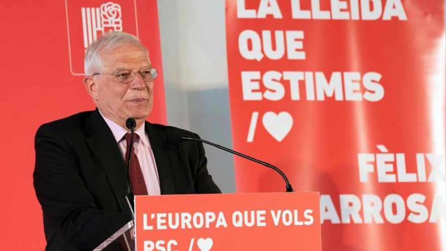 "Borrell ve ""totalitario"" el veto del independentismo a Iceta"