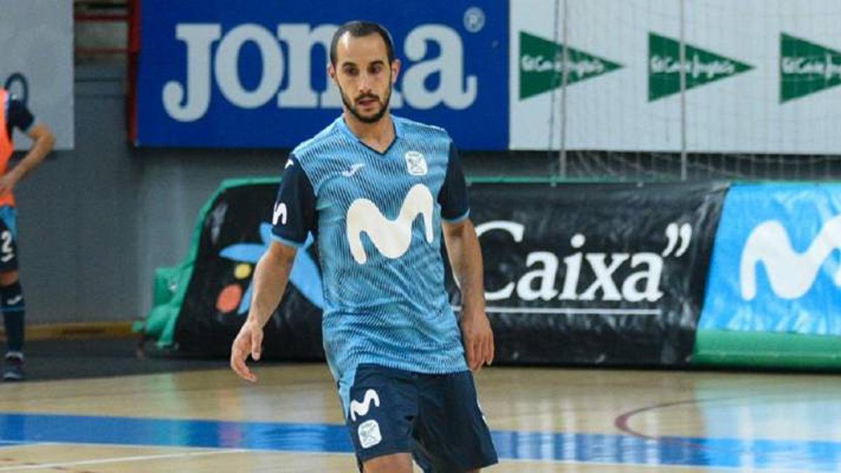 Boyis, en un encuentro del Movistar Inter.