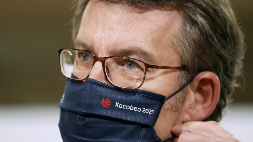Feijóo dice que Galicia está más expuesta al covid porque hay menor inmunidad