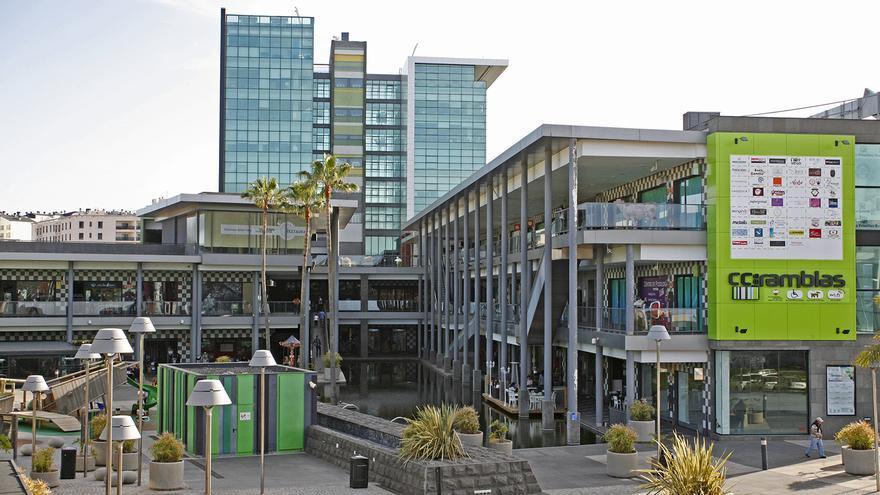 Centro Comercial Las Ramblas, donde están situadas las oficinas de Emalsa.