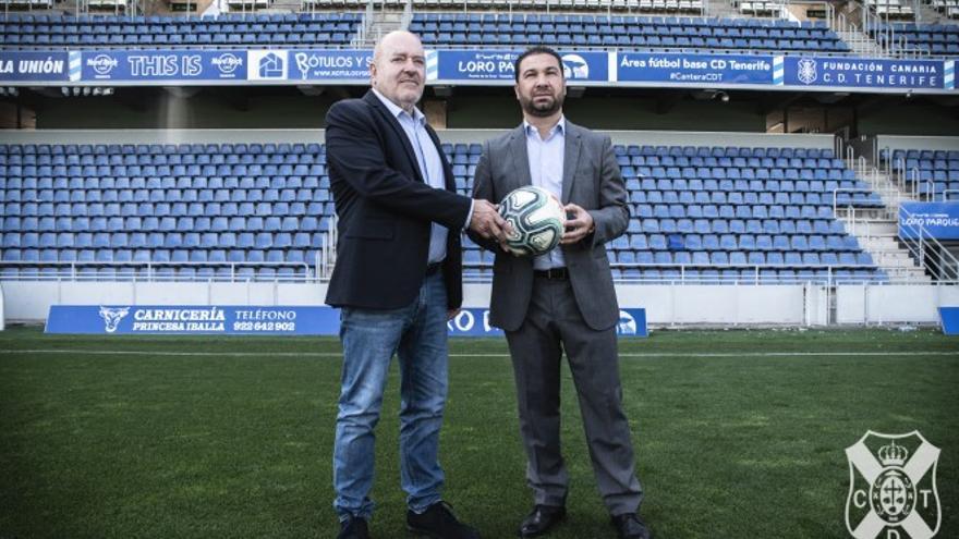 Juan Carlos Cordero junto a Miguel Concepción