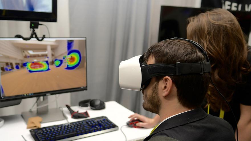 La 'startup' japonesa Fove fue la primera en integrar el seguimiento ocular en sus gafas de realidad virtual