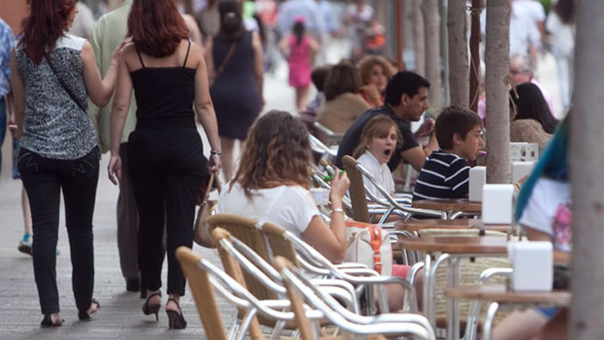 Veladores en Córdoba.