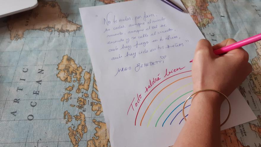 """""""Al escribir una carta a alguien, nos la escribimos en primer lugar a nosotras y nosotros mismos"""""""