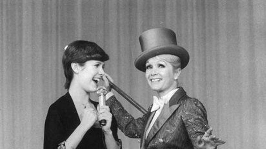 Carrie Fisher y Debbie Reynolds en el documental 'Bright Lights'