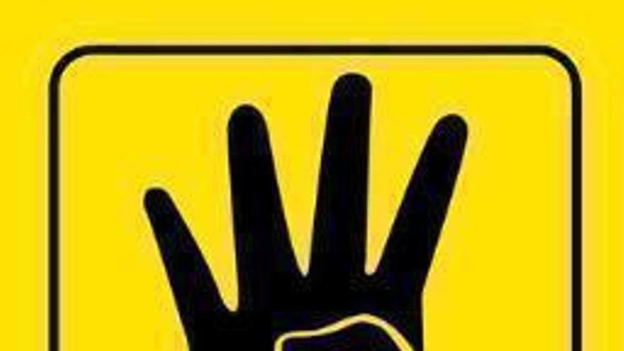 La Rabia, símbolo de la Hermandad Musulmana egipcia