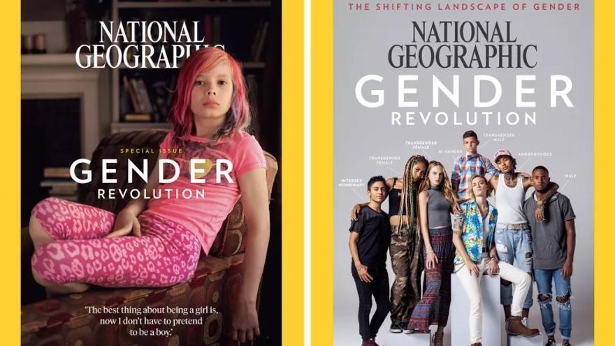 Portadas de enero de 2017 de National Geographic.