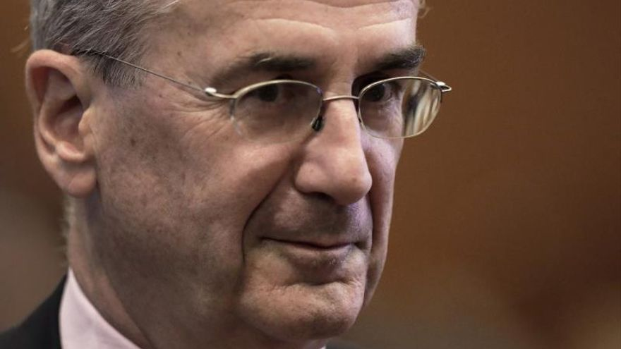 El gobernador del Banco de Francia, François Villeroy de Galhau.