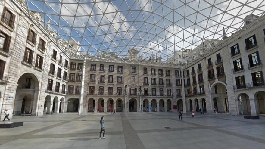 El Ayuntamiento plantea tres alternativas para cubrir la Porticada, con costes de hasta 7,6 millones