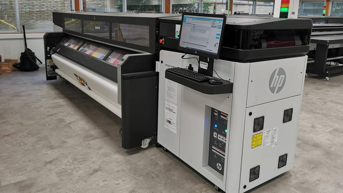 Instalaciones de HP en León.
