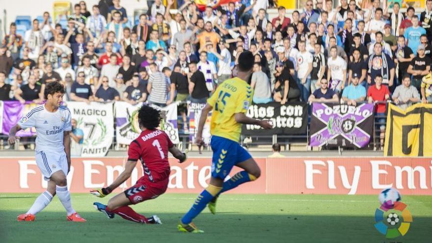 La actuación de Barbosa impidió que Las Palmas perdiera por goleada. LFP