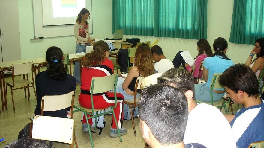 Colegio de Santa Brígida participante en un proyecto de dinamización juvenil.