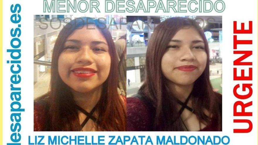 La Policía Local de Las Palmas pide ayuda para encontrar a Liz, una adolescente desaparecida desde el lunes