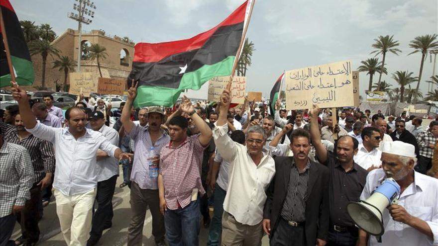 Un muerto en Trípoli en una manifestación contra la presencia de las milicias