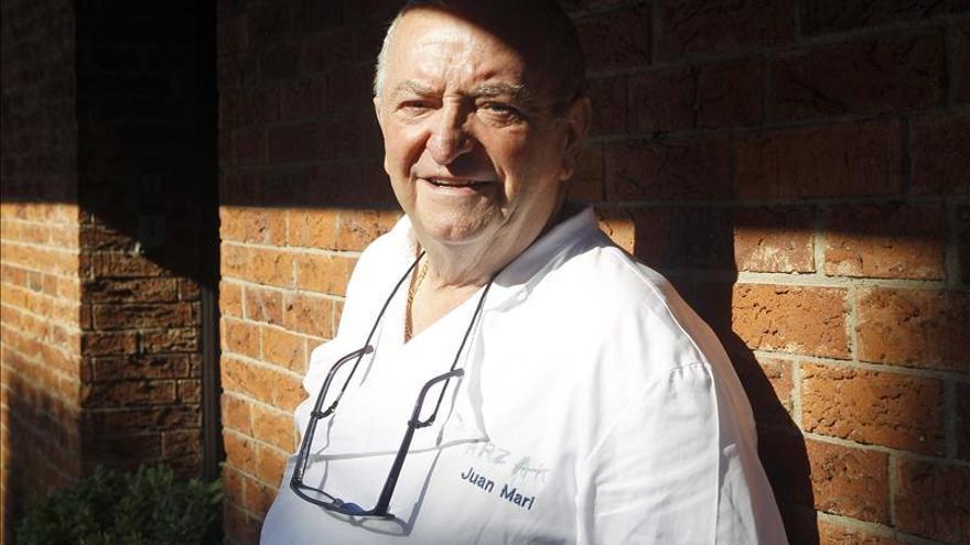 """Arzak lamenta que los programas de cocina """"a veces no respetan"""" la profesión"""