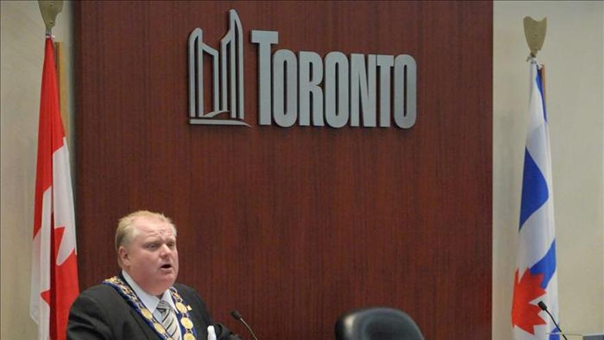 El alcalde de Toronto contra las cuerdas por un supuesto vídeo en el que se droga