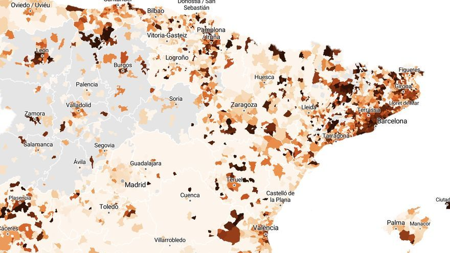 Contagions soar in the Mediterranean with the arrival of summer: the data, municipality by municipality