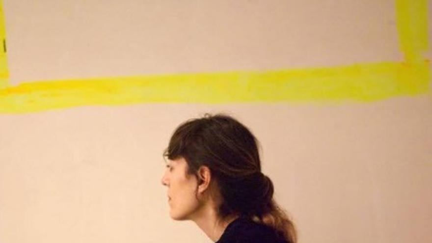 Ana Escribano, una de las artistas premiadas