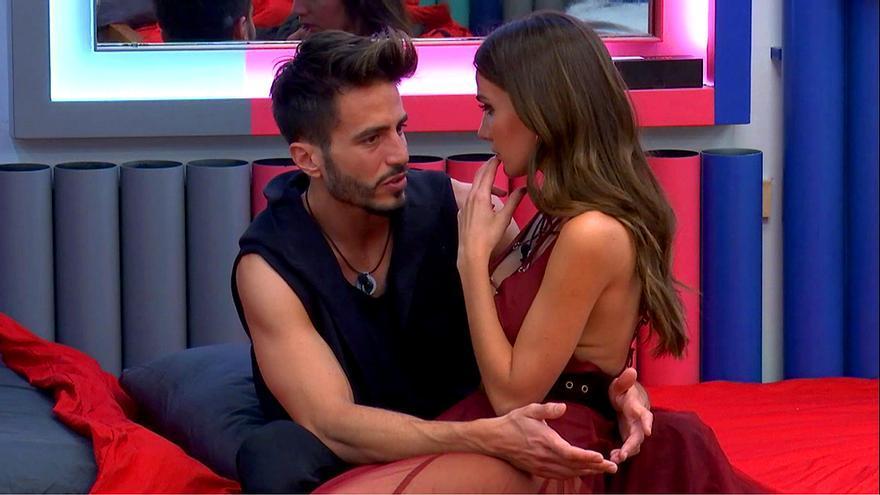Marco y Aylén en 'GH Vip'