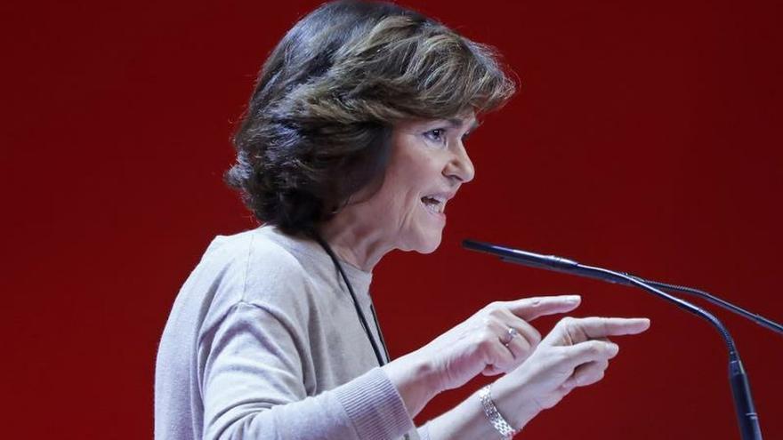 Calvo: Para el PSOE es un honor dar pasos para encauzar el conflicto catalán
