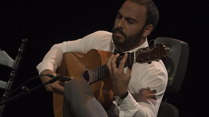 Juan Moreno a la guitarra | TONI BLANCO