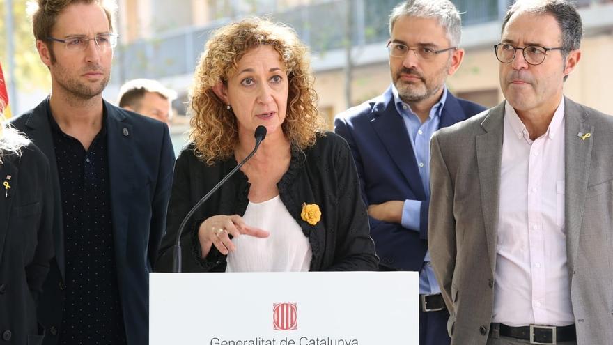 """La consejera catalana de Justicia: """"Añoramos a Rajoy que es un estadista frente a Pablo Casado"""""""