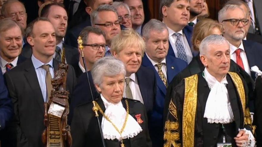 """Johnson promete una """"nueva era dorada"""" para el Reino Unido"""