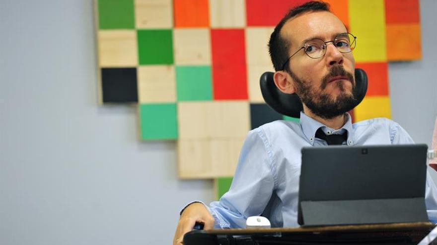 Podemos dice que la hoja de ruta de Puigdemont no tiene apoyo social suficiente