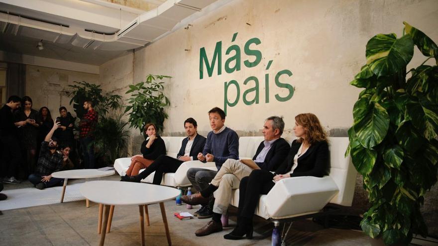 Más País presenta su programa económico para el 10N.