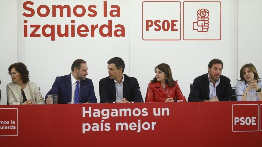 Pedro Sánchez, reunido con su Ejecutiva