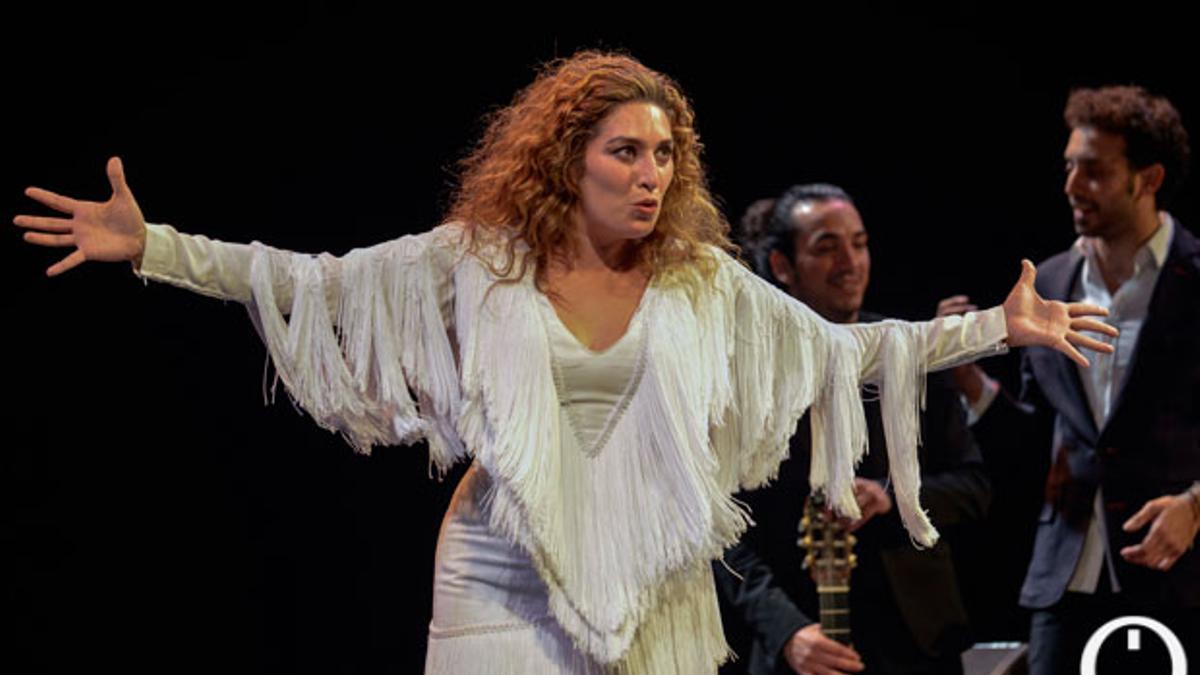 La cantaora Estrella Morente.