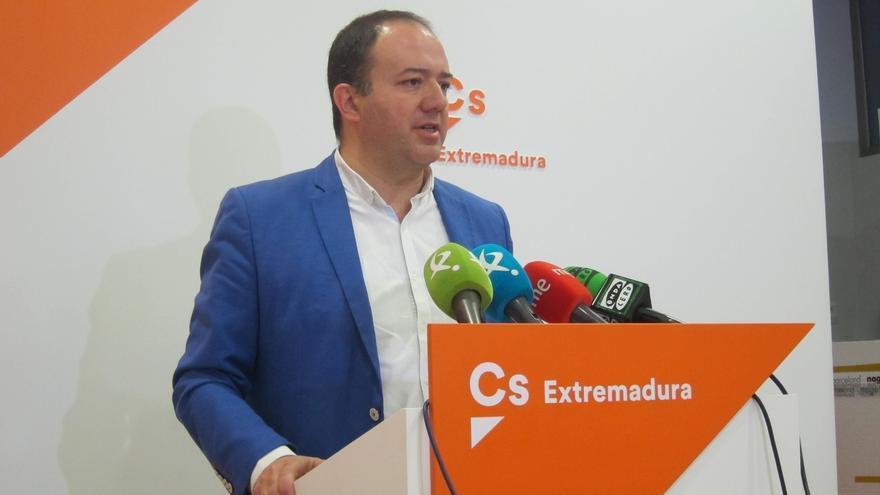 """Ciudadanos muestra su """"respeto"""" a las decisiones judiciales en relación a un caso de prevaricación en Extremadura"""
