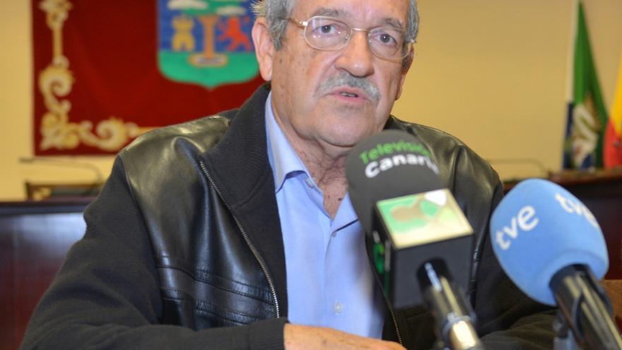 Eutimio Armas, consejero de Infraestructuras de El Hierro
