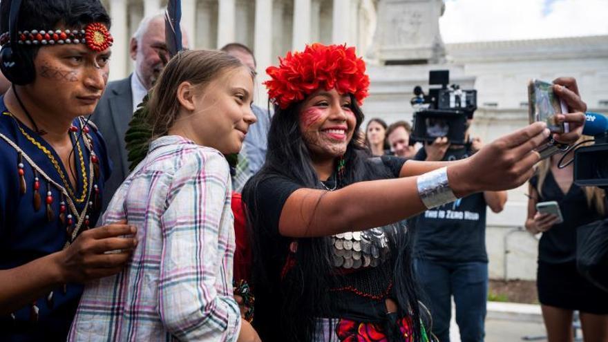 Greta Thunberg saca los colores a los congresistas de EE.UU.